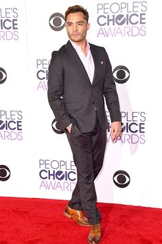 See All the Red Carpet Looks From the 2016 People's Choice Awards | Ed Westwick | EW.com