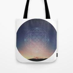 Spiritual mood mandala Tote Bag by JKdizajn - $22.00