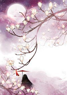 Daintiness of Aromatic Magnolias - pixiv Spotlight