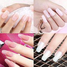 Diy Acrylic Nails, Acrylic Nail Designs, Nail Art Designs, Soak Off Acrylic Nails, Polygel Nails, Gel Manicure, Hair And Nails, Nail Gel, Do It Yourself Nails