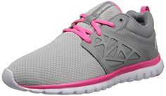 buy popular 174d6 9003f Reebok Women s Sublite Authentic Running Shoe,Steel Grey Solar M US
