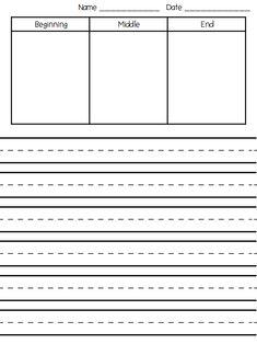 First Grade Funtastic: Writer's Workshop Paper *Freebie*