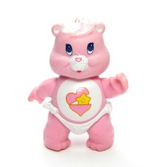 Baby Hugs Bear Vintage Care Bears Poseable Figurine Toy in Diaper, Pink with Heart & Star Vintage Barbie, Vintage Pink, Vintage Toys, Childhood Toys, Childhood Memories, Care Bears Vintage, Baby Hug, Baby Baby, My Best Friend's Birthday