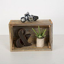 Reclaimed Display Crates
