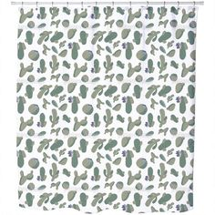 Uneekee Cacti Collection Shower Curtain