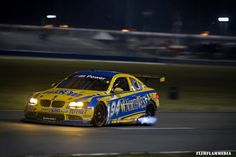 Turner Motorsport 94 M3 blowing blue flames