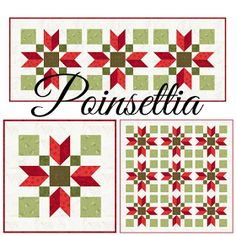 Sew Fresh Quilts: Poinsettia