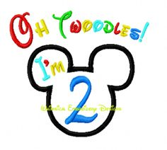 Mickey I'm Twoodles