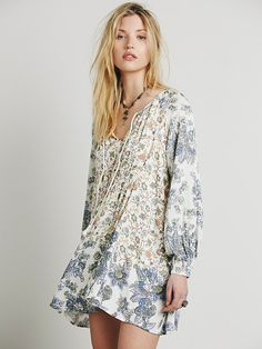 Free People Lucky Loosey Shapeless Dress, $128.00- not actual maternity, but I recalled how much you liked Free People, and that many of their dresses were lose and flowing, this might work