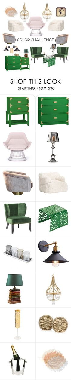 """Untitled #246"" by mink-nppbv ❤ liked on Polyvore featuring interior, interiors, interior design, home, home decor, interior decorating, Bungalow 5, Rove Concepts, Godinger and PBteen"
