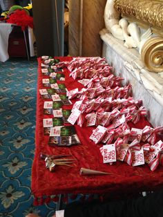 Contraband exhibits at Chilli Blossom Asian Wedding Exhibition Moor Park