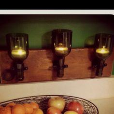 DIY wine bottle tops