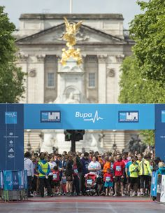 Run the most famous mile in the world, starting on The Mall.  #WestminsterMile #Running #MayBankHoliday #ThisGirlCan