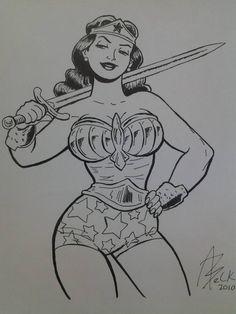 Wonder Woman by Alan Belk