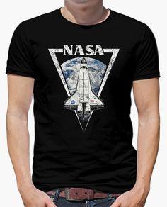Camiseta Triangular Nasa Endeavour Insignia