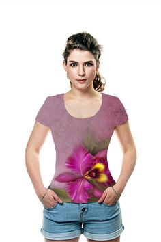By Kerry White. All Over Printed Art Fashion T-Shirt by OArtTee