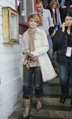 And fur-lined boots.   Just A Reminder That Keira Knightley Used To Dress Like This