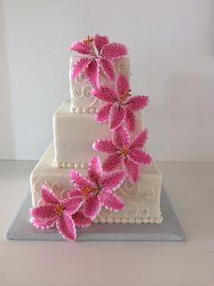 Stargazing Lily   Wedding   Gallery   Sugar Divas Cakery   Orlando   Cupcakes   Custom Cakes  Www.sugardivascakery.com