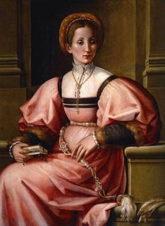 Pier Francesco di Jacopo Foschi   Portrait of a Lady Date	between 1530 and 1535
