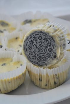Oreo cheesecakes. I've actually made these, they taste like heaven!
