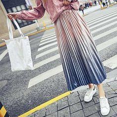 412b659f48 Pleated Velvet Skirt - Front View Velvet Pleated Skirt, Pleated Skirts,  Midi Skirt,