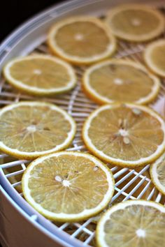 Dehydrating Meyer Lemon Slices | Oysters & Pearls