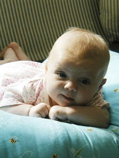 My daughter Lauren when she was an infant.