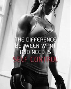 Self control is your choice!