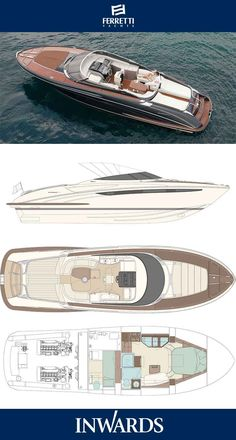 Riva Rivarama Super - layout | To view the latest Riva Yachts visit our website