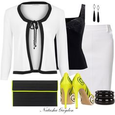 """Neon Accessory"" by natasha-gayden on Polyvore"