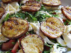 Salada de Beringela Grelhada