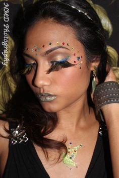 Fairy Fantasy #makeup http://www.facebook.com/BellezzaBee