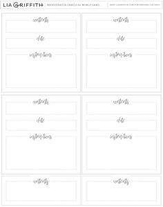 photo about Printable Freezer Labels named Absolutely free printable freezer label PDF template. Printables