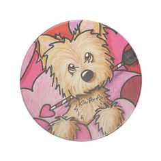 Cairn Terrier Cupid Coaster   Click on photo to purchase. Check out all current coupon offers and save! http://www.zazzle.com/coupons?rf=238785193994622463&tc=pin