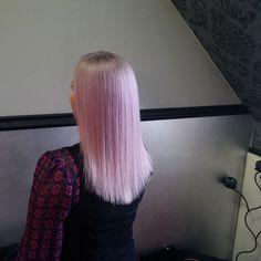 Pastel hair, pastel violet, pastel pink, grey hair
