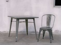 "Beaufurn ""Brasserie"" tables, chairs & barstools are a great option for your outdoor space. http://www.corecontractbrands.com/beaufurn/"