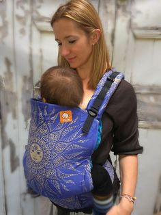 (Standard Size) Half Wrap Conversion Tula Baby Carrier - Oscha Surya Toltec