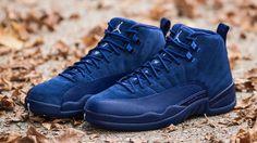 "SHOP: Nike Air Jordan 12 Premium ""Deep Royal Blue"" kickbackzny.com"