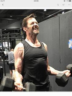 Motivation! Wolverine 3 training...wow #fitness #health # lunchnut