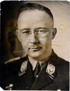 Another channel of evil that contributed to Nazi atrocities. A rare library of books on witches and the occult that was assembled by Nazi SS chief Heinrich Himmler in the war has been discovered in a depot of the Czech Republic National Library. Aryan Race, Ww2 Propaganda Posters, Witchcraft Books, The Third Reich, Personal Photo, World War Two, Blue Eyes, Wwii, Occult