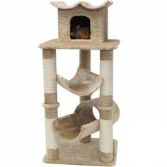 Majestic 47-inch Casita Cat Faux Fur Furniture Tree