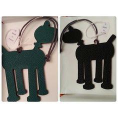 New-Hermes-Petit-H-horse-cheval-PM-black-dark-green-Handbag-Charm-birkin-kelly
