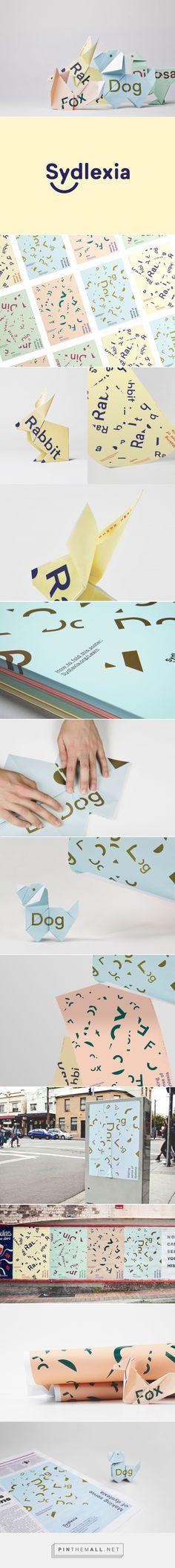 New Logo & Brand Identity for Sydlexia by BBDO Dubai — BP&O - created via https://pinthemall.net