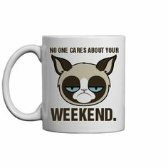An Office Grumpy Cat: 11oz Ceramic Coffee Mug. For order or details click on the image!