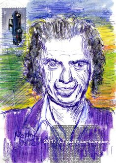 Ballpoint Doodles - Keith Richards - #keithrichards #rollingstones #portrait #doodle #drawing #sketch #painting #stabilowoody #crayons #ballpoint