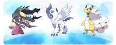 Mega evolutions