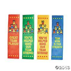 Team Player Award Ribbons