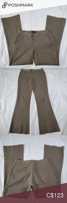 Banana Republic tan pants size 2 Make an offer or ask for details on this. Excellent used condition 26 in long Banana Republic Pants Boot Cut & Flare Tan Pants, Plus Fashion, Fashion Tips, Fashion Trends, Cover Photos, Pant Jumpsuit, Banana Republic, Jumpsuits, Flare