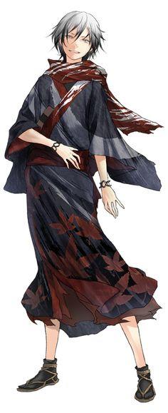 The boy The blade Anime Demon, Anime Manga, Anime Guys, Anime Art, Manga Characters, Fantasy Characters, Comic Character, Character Concept, L5r