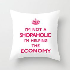 I'm not a shopaholic I'm helping the Economy Keep... | Wicker Furniture  www.wickerparadise.com